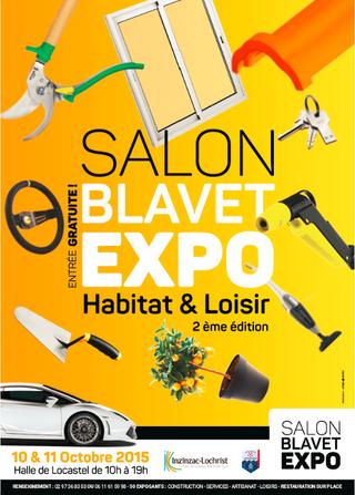 Brico Illico au Salon Blavet Expo les 10 & 11 octobre prochains
