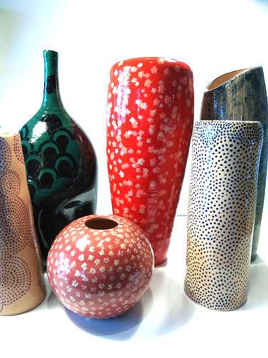 Collection Vase Peint