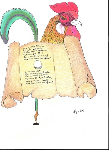 le coq et la perle (fable)