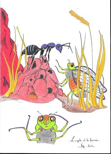 La cigale et la fourmi (fable)