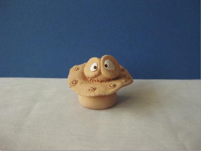 MiniChose biscuitée aux yeux blancs