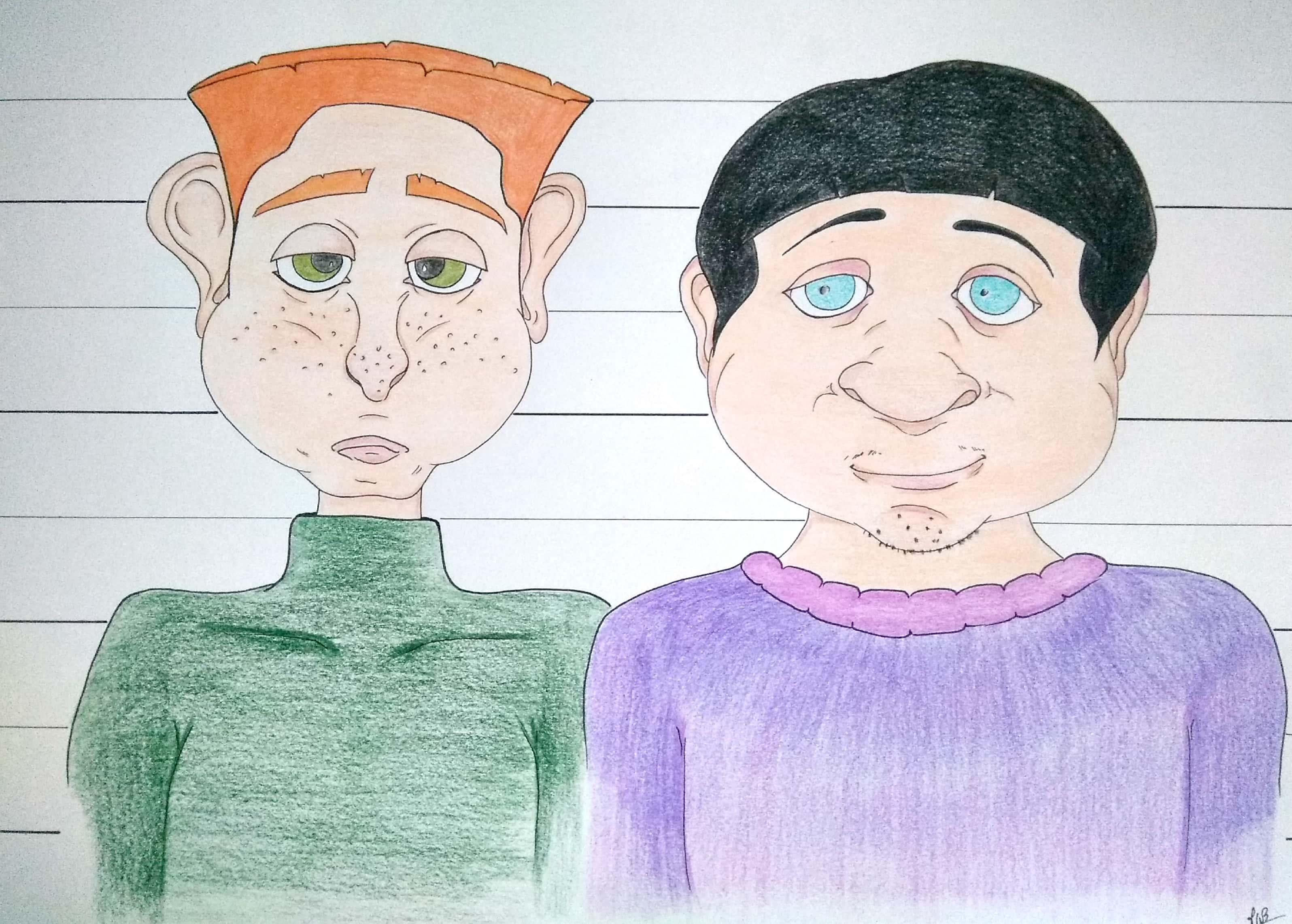 Sylvestre et Danny
