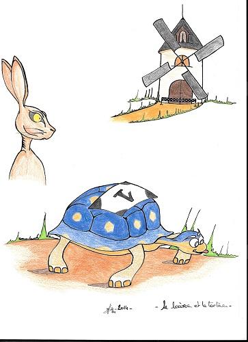 Le lièvre et la tortue (fable)