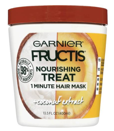 Nourishing Treat 1 Minute Hair Mask + Coconut Extract