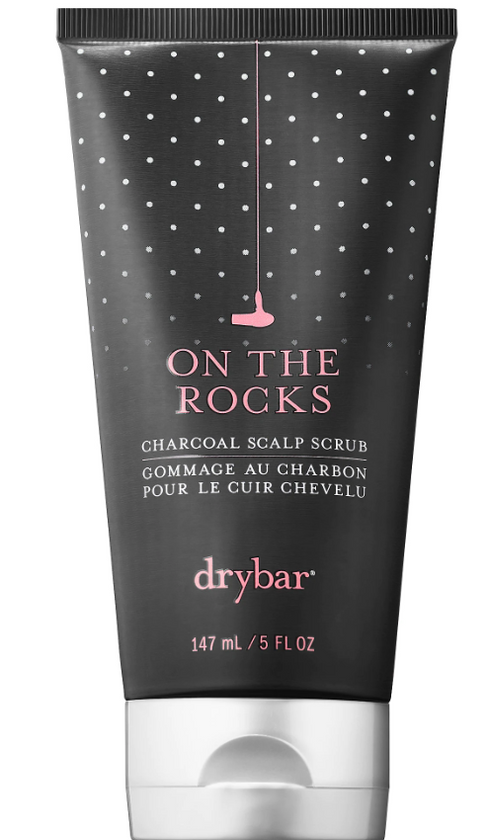 Roll over or click image to zoom in     DRYBAR On the Rocks Charcoal Scalp Scrub