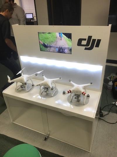 DJI Drone Retail Cabinet