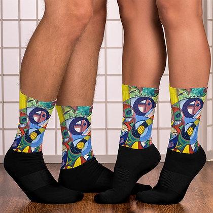 Color Jay Socks by Zahra Ali