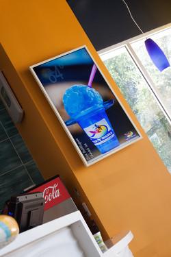 Tasty Waves Digital Promotion Board