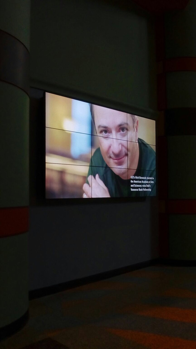 VIDEO WALLS BUILD COMMUNITY AND ENHANCE THE CAMPUS EXPERIENCE at Rice University