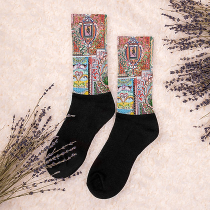Truck Art Socks by Zahra Ali