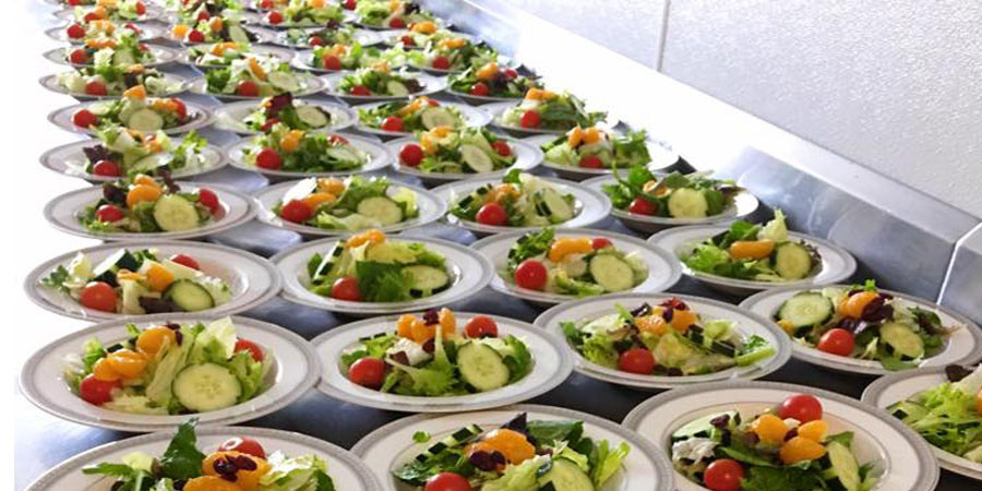 Individual Catered Salads