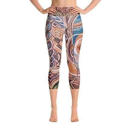 New Queen Yoga Capri Leggings copy
