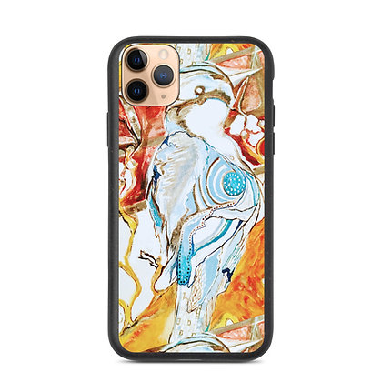 Blue Jay Biodegradable phone case