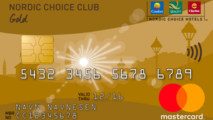 Nordic Choice Mastercard - Norges eneste hotellkort