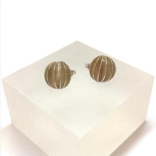 Large Lantern Stud Earrings
