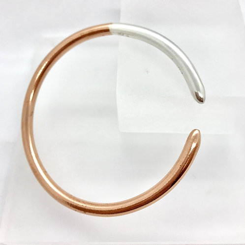 Copper and Silver - Bangle