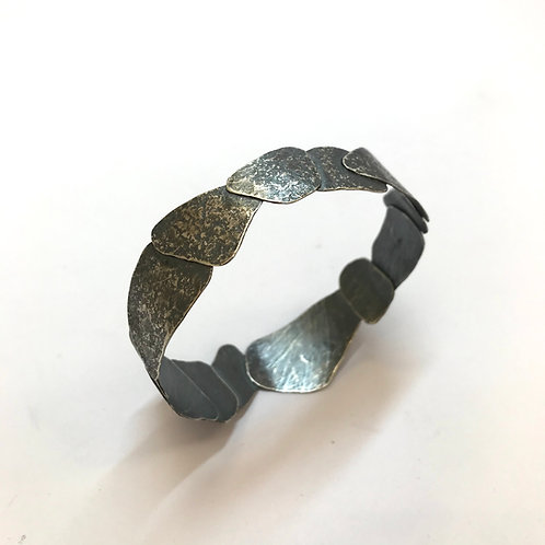 Riverbed Bangle (narrow) by Phillipa Gee