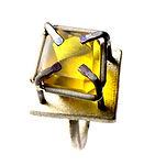 NA 19 amber titanium ring neil adcock vu