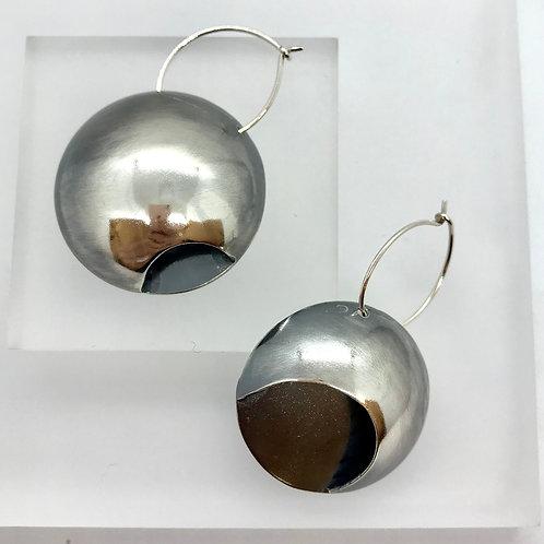 Moonphase earrings - large