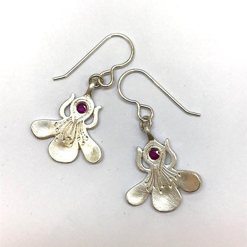 Wild Plum Earrings by Adele Stewart