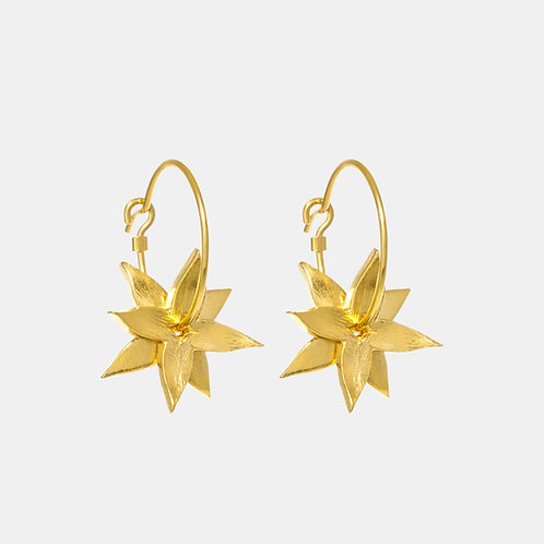 Star Anise Earrings by Kiri Schumacher