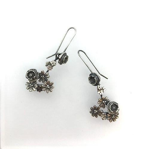 Wildflower earrings - large