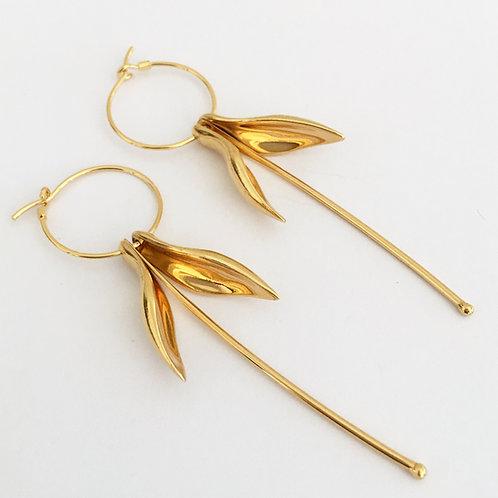Fuchsia Earrings by Kiri Schumacher