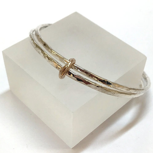 Get Knotted Double Bangle