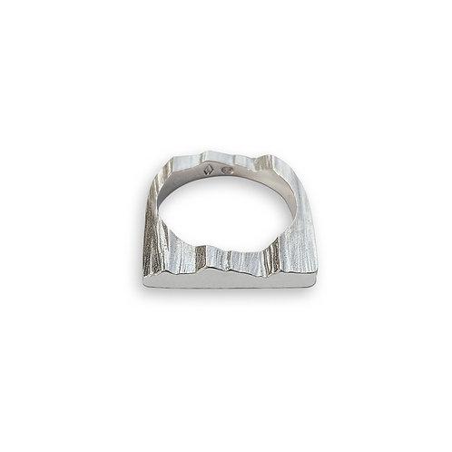 Flat Ridge Ring by Nicola Whelan