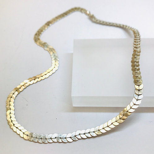 Sequin Necklace Silver by Joanna Campbell