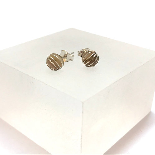 Mini Lantern Stud Earrings