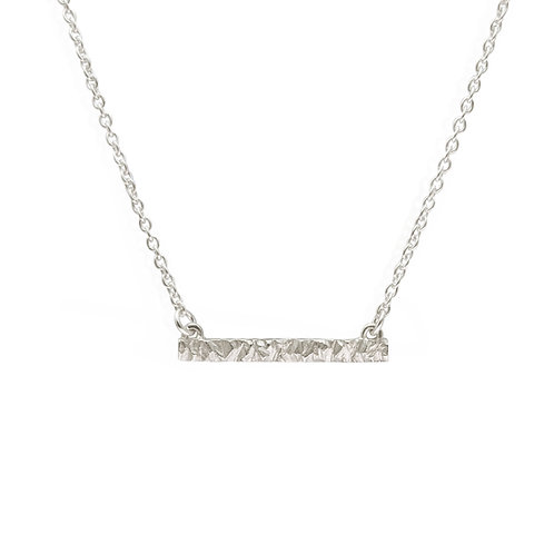 Birdseye Ridge Bar Necklace by Nicola Whelan