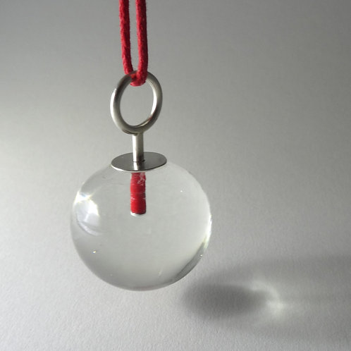 Single Ball Pendant by Maike Barteldres