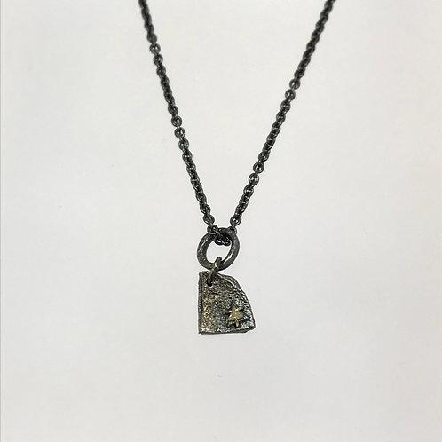 Diamond Sliver Pendant by Natalie Salisbury