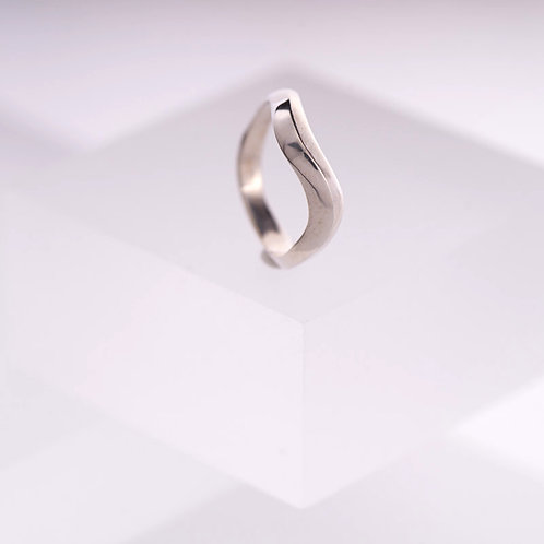 Tidal Silver Ring