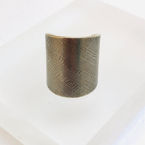 Bias Silver Ring by Joanna Campbell