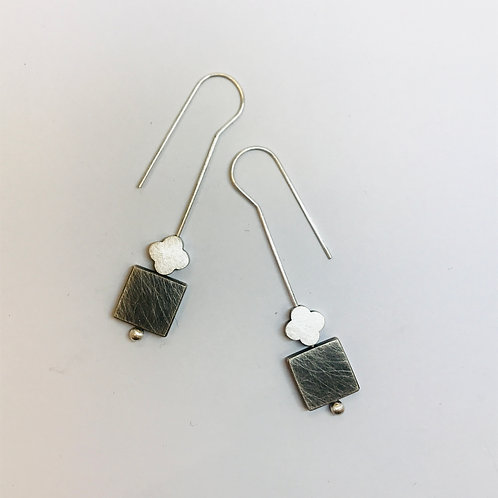 Turning Worlds Earrings by Kate Alterio