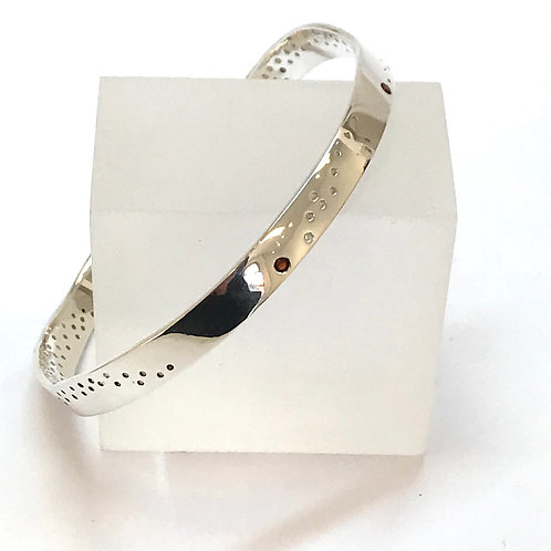 Transmission Bangle by Carmen Burgi