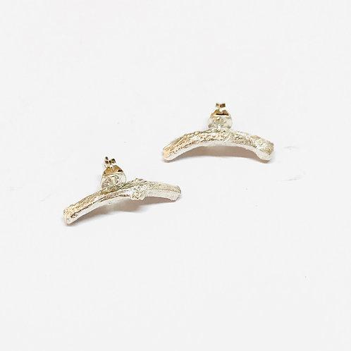 Briar Arc Stud Earrings by Natalie Salisbury