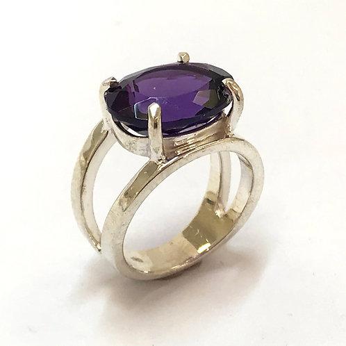Cosmos Amethyst Ring