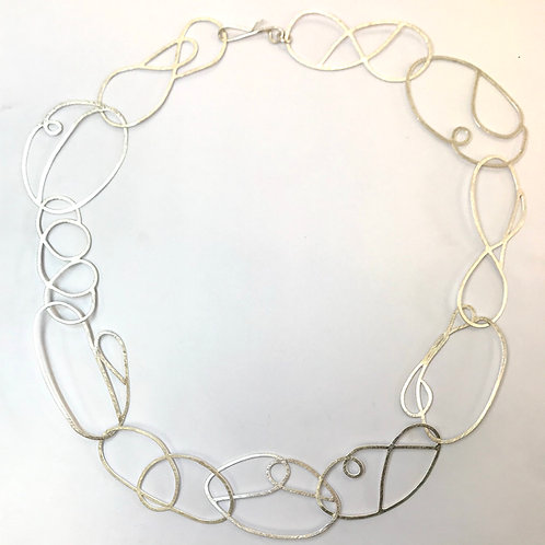 Swirl Necklace by Phillipa Gee