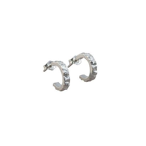 Ridgeline Hoop Earrings by Nicola Whelan