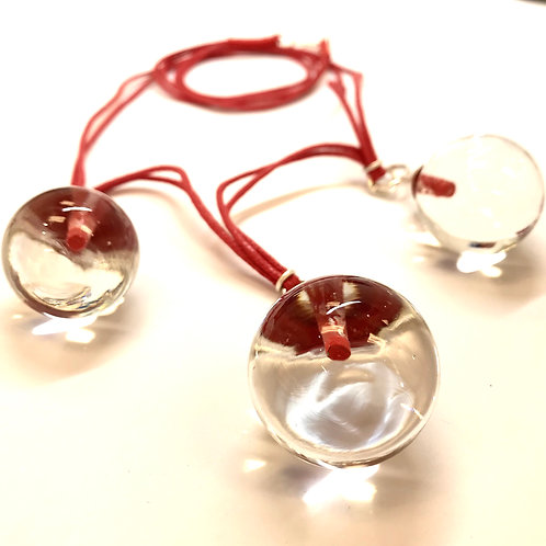 3 Ball Necklace by Maike Barteldres