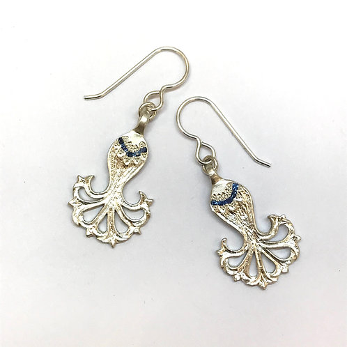 Cornflower Earrings by Adele Stewart