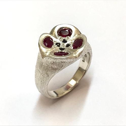 Poppy Ring by Adele Stewart
