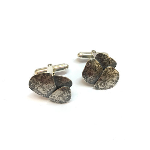 Riverbed Cufflinks by Phillipa Gee