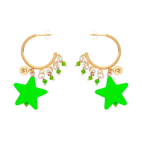 Shooting Star Earrings by Melissa Curry
