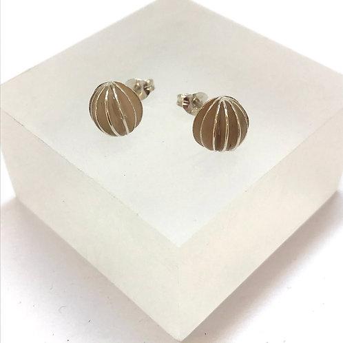 Medium Lantern Stud Earrings