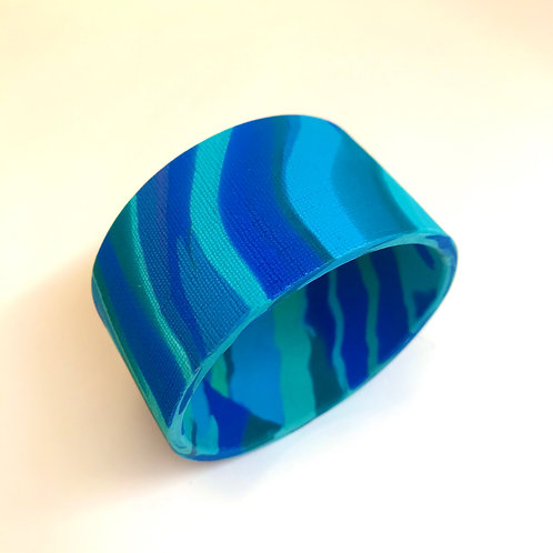 Wave Bangle by Phillipa Gee
