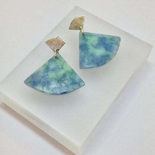 Waitaki Blue Ear Candy Earrings by Fran Carter